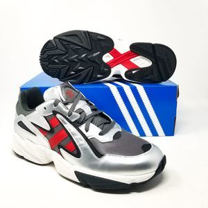 Adidas Yung96 Chasm Running EE7240 Gry Red Silver
